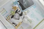 Stampin´ Up! - Baby Shadow Box/ Erinnerungsbild - Jakob Maximilian 4