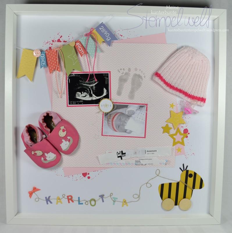 Stampin´ Up!_Baby Erinnerungsbild_Baby Shadowbox_Objekt Rahmen_Schattenfugenbox_Karlotta_1