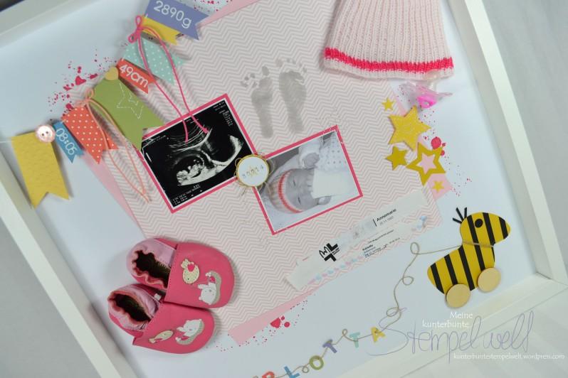 Stampin´ Up!_Baby Erinnerungsbild_Baby Shadowbox_Objekt Rahmen_Schattenfugenbox_Karlotta_6