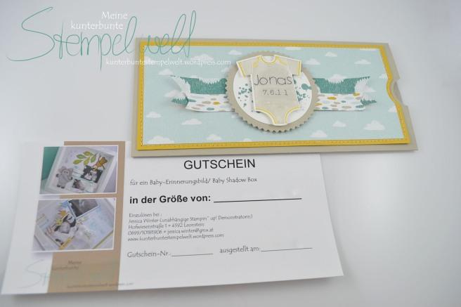 Gutschein_Baby Erinnerungbild_Baby Shadow Box_Gutschein_Baby_Something for Baby_Designerpaier Schlaflied_2