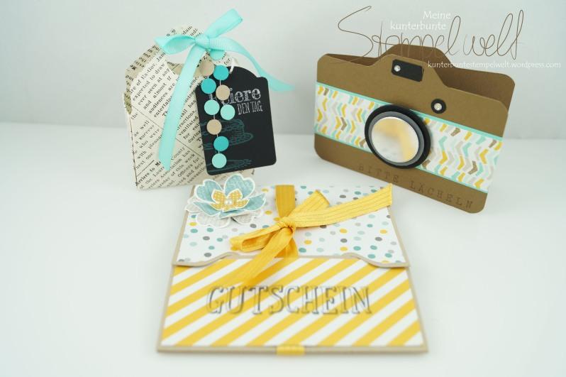 Stampin´ Up!_Stempelparty_Micheldorf_Gutscheinkarte_Camera Card_Verpackung