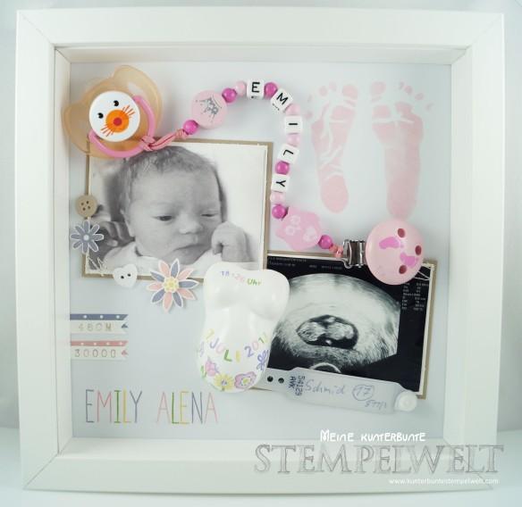 Stampin´ Up!_Baby Erinnerungsbild_Baby Shadowbox_Objekt Rahmen_Schattenfugenbox_Emily Alena_1