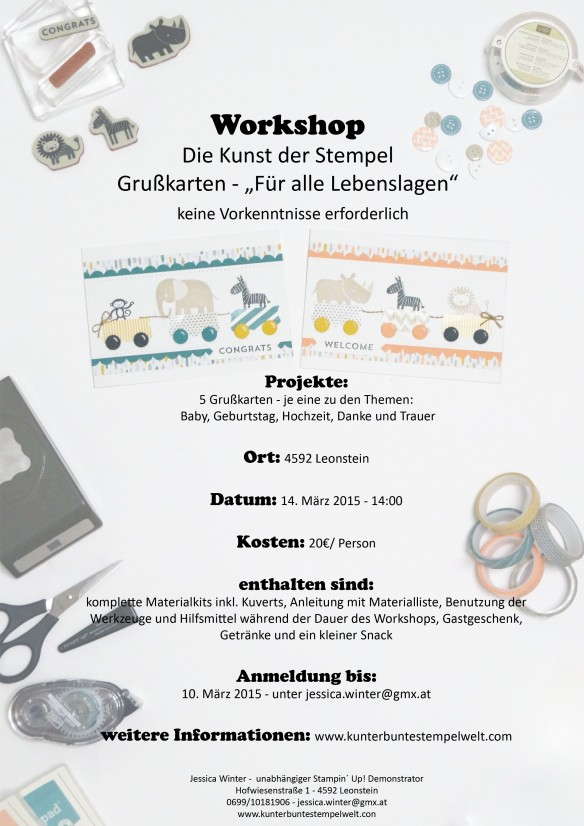 Workshop für alle Lebenslagen