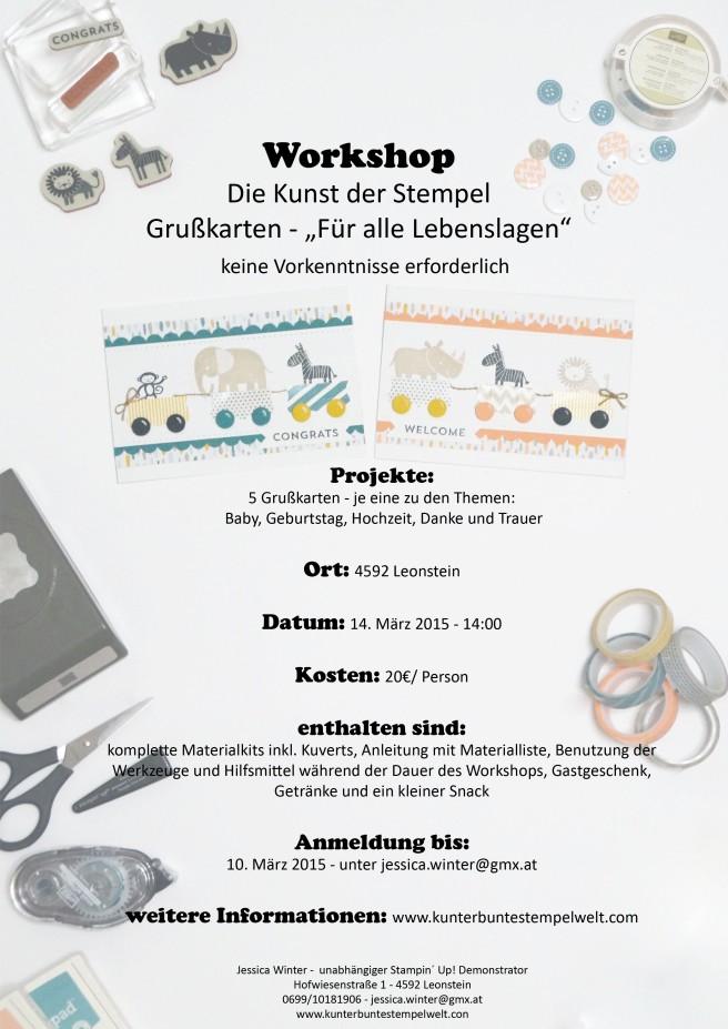 Workshop für alle Lebenslagen