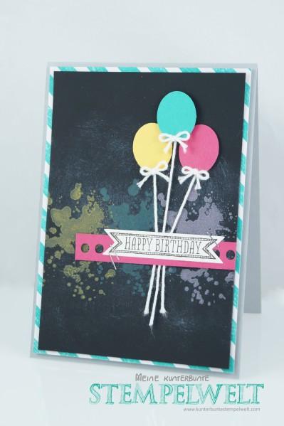 Stampin´ Up!_Geburtstagskarte_Kreide Technik-Signalfarben_Kreidetinte_Sketched Birthday_1