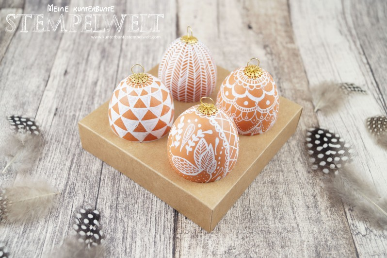 Stampin´ Up!_Verpackung_Ostern_Doodle Eggs_Zentangle_bemalte Eier_Ei Ei Ei_Curry Gelb_embossing_3
