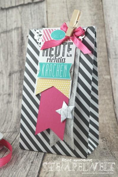 Stampin´ Up!_Stanz- und Falzbrett für Geschenktüten_Geburtstagskracher_Designerpapier im Block_Zierdeckchen Metalisch_Wassermelone_Osterglocke_Bermudablau_5