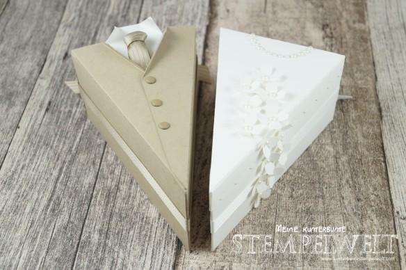 Stampin´ UP!_Thinlits Tortenstück_Geldgeschenk zur Hochzeit_Braut und Bräutigam_Savanne_Flüsterweiß_1
