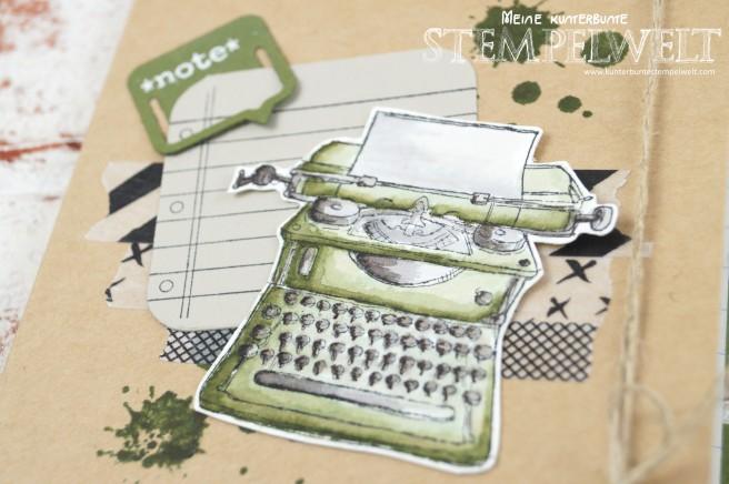Stampin´ Up!_Tap Tap Tap_Moosgrün_Aqua Painter_Modische Muster_Thinlits Paperclips_2