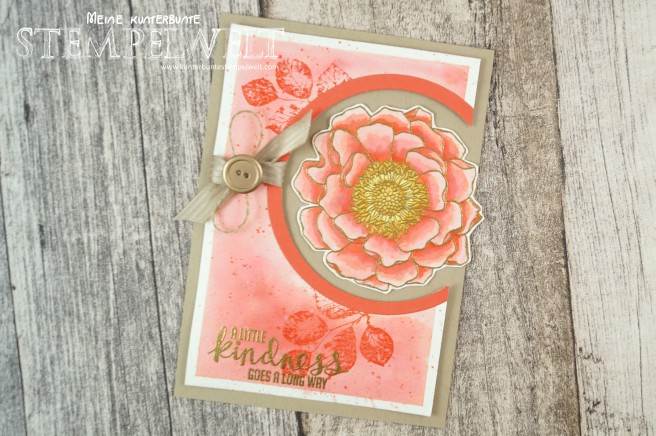 Stampin´Up!_Blended Bloom_aquarell_Kinda Eclectic_Calypso_embossing_5