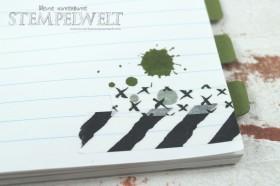 Stampin´ Up!_Tap Tap Tap_Moosgrün_Aqua Painter_Modische Muster_Thinlits Paperclips_6