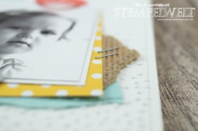 Stampin´ Up_CD-Hülle_Anleitung_Scrapbooking_Designerpapier im Block Signalfarben_Wellpappe_Miniklammern_Project Life Paper Clips_5