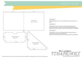 Stampin´ Up_CD-Hülle_Anleitung_Scrapbooking_Designerpapier im Block Signalfarben_Wellpappe_Miniklammern_Project Life Paper Clips_1