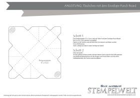 Täschchen envelope punchboard