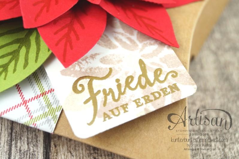 Stampin´ Up!_Weihnachtswunder_Elementstanze Festliche Blüte_Designerpapier im Block Fröhliche Feiertage_Pillow Box_3
