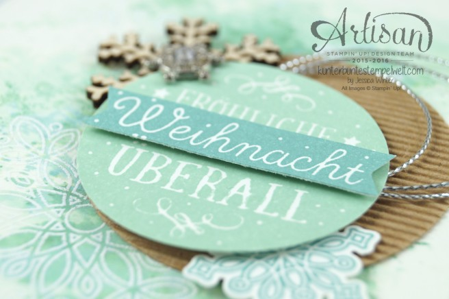 Stampin´ Up!_Artisan Blog Hop_Smooshing Technik_Flockenzauber_Elementstanze Schneeflocke_2
