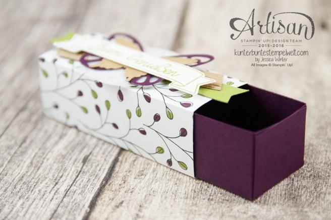 Stampin´ Up! - Artisan Design Team - Designerpapier Wildblumenwiese - Framelits Schmetterling - eleganter Schmetterling - Ein kleiner Gruß - 2