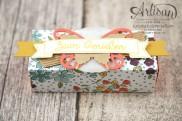 Stampin´ Up! - Artisan Design Team - Designerpapier Wildblumenwiese - Framelits Schmetterling - eleganter Schmetterling - Ein kleiner Gruß - 4