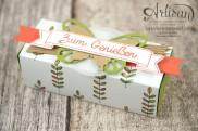 Stampin´ Up! - Artisan Design Team - Designerpapier Wildblumenwiese - Framelits Schmetterling - eleganter Schmetterling - Ein kleiner Gruß - 5