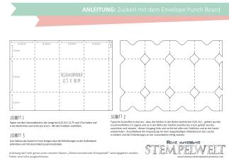 Anleitung Zuckerl - Envelope Punch Board