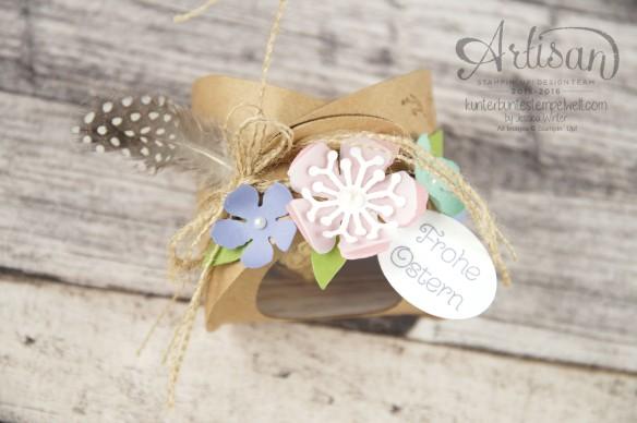 Stampin´ Up! - Artisan Design Team - Ostereiersuche - Zierschachtel für Andenken - Botanical Flowers - 1