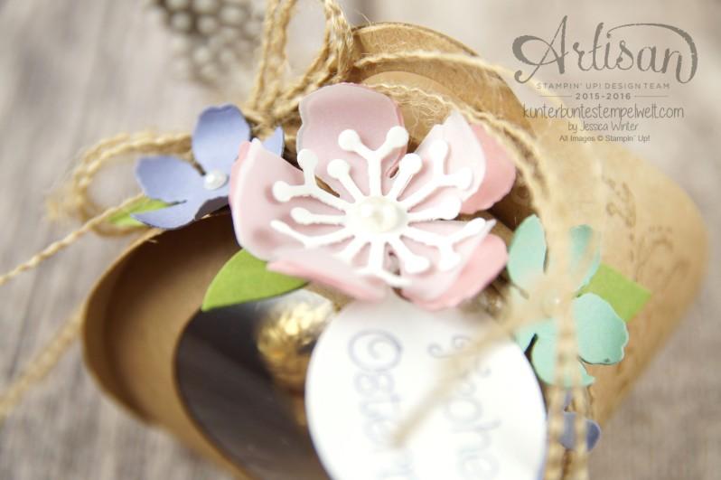 Stampin´ Up! - Artisan Design Team - Ostereiersuche - Zierschachtel für Andenken - Botanical Flowers - 82