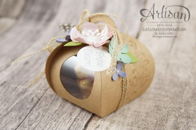 Stampin´ Up! - Artisan Design Team - Ostereiersuche - Zierschachtel für Andenken - Botanical Flowers - 8