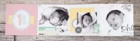 Stampin´ Up! - Artisan Blog Hop - Project Live - Hallo Baby - Mini Album - Stanz und Falzbrett für Geschenkschachteln - 1