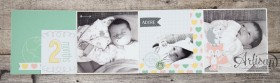 Stampin´ Up! - Artisan Blog Hop - Project Live - Hallo Baby - Mini Album - Stanz und Falzbrett für Geschenkschachteln - 2