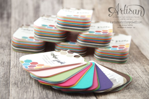 Stampin´ Up! - Artisan Design Team - Color Guide - Color Coach - Farbfächer - 1