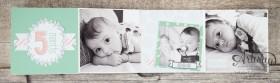 Stampin´ Up! - Artisan Blog Hop - Project Live - Hallo Baby - Mini Album - Stanz und Falzbrett für Geschenkschachteln - 5