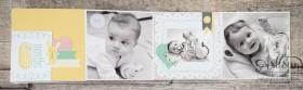 Stampin´ Up! - Artisan Blog Hop - Project Live - Hallo Baby - Mini Album - Stanz und Falzbrett für Geschenkschachteln - 6