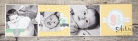 Stampin´ Up! - Artisan Blog Hop - Project Live - Hallo Baby - Mini Album - Stanz und Falzbrett für Geschenkschachteln - 9