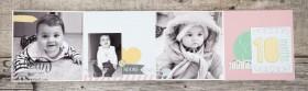 Stampin´ Up! - Artisan Blog Hop - Project Live - Hallo Baby - Mini Album - Stanz und Falzbrett für Geschenkschachteln - 10