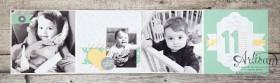 Stampin´ Up! - Artisan Blog Hop - Project Live - Hallo Baby - Mini Album - Stanz und Falzbrett für Geschenkschachteln - 11