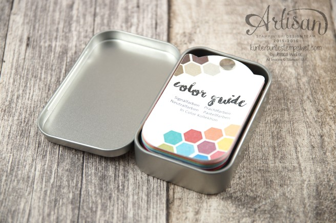Stampin´ Up! - Artisan Design Team - Color Guide - Color Coach - Farbfächer - 3