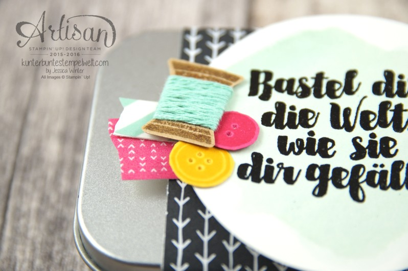 Stampin´ Up! - Artisan Design Team - Designerpapier im Block Meine Party - Designermotivklebeband Meine Party - Aus der Kreativkiste - 2