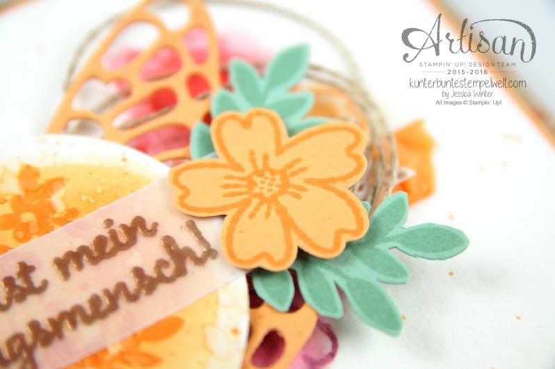 Stampin´ Up! - Für Lieblingsmenschen - Textured Impressions Prägeformen Bezaubernde Blüten - Thinlits Schmetterlinge - 2