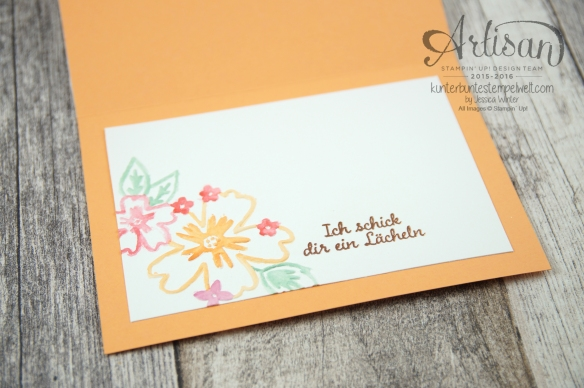 Stampin´ Up! - Für Lieblingsmenschen - Textured Impressions Prägeformen Bezaubernde Blüten - Thinlits Schmetterlinge - 4