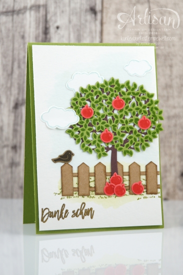 Stampin´ Up! - Artisan Design Team - Blog Hop - Wald der Worte - Beautiful Branches Thinlits - 1