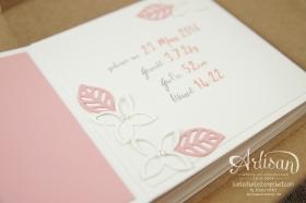 Stampin´ Up! - Minialbum - Leporello - Envelope Punch Board - Spiralblume - Blütenpoesie - 10