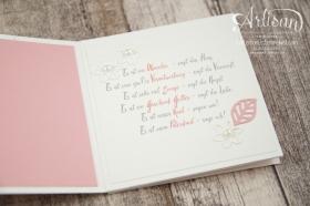 Stampin´ Up! - Minialbum - Leporello - Envelope Punch Board - Spiralblume - Blütenpoesie - 11