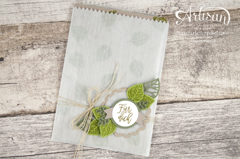 Stampin´ Up! - Artisan Design Team - Blog Hop - Wald der Worte - Beautiful Branches Thinlits - 5