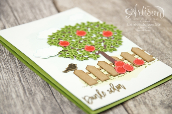Stampin´ Up! - Artisan Design Team - Blog Hop - Wald der Worte - Beautiful Branches Thinlits - 3