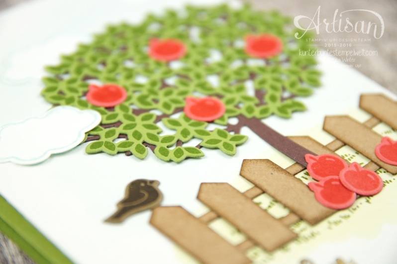 Stampin´ Up! - Artisan Design Team - Blog Hop - Wald der Worte - Beautiful Branches Thinlits - 2