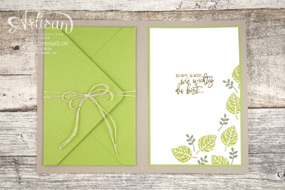 Stampin´ Up! - Artisan Design Team - Blog Hop - Wald der Worte - Beautiful Branches Thinlits - 7
