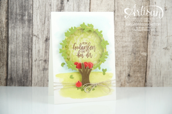 Stampin´ Up! - Wald der Worte - Thoughtful Branches - Artisan Blog Hop - 1