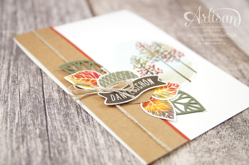 Stampin´ Up! - Wald der Worte - Thoughtful Branches - Artisan Blog Hop - 23