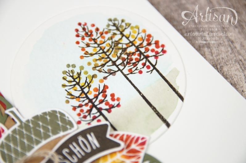 Stampin´ Up! - Wald der Worte - Thoughtful Branches - Artisan Blog Hop - 21