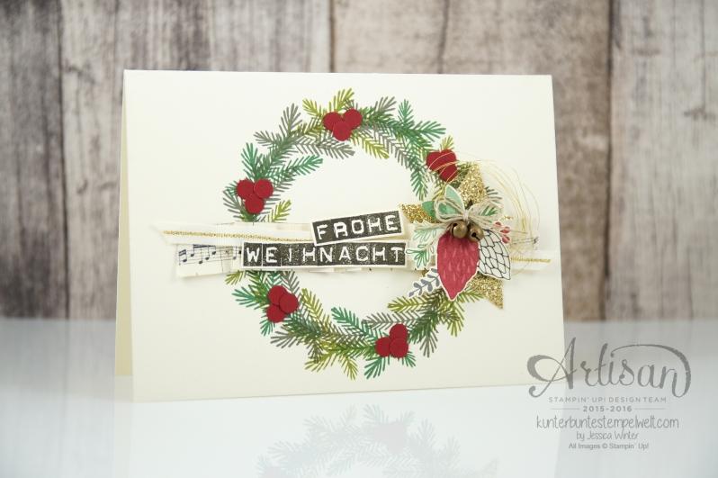 Stampin´ Up! - Artisan Design Team - Weihnachtsset - Peace this Cristmas - Labeler Aphabet - Besonderes Designerpapier Für Weihnachten - 2